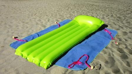 accédez à vos affaires de plage sans déposer les ancrages de stopenvol.