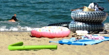 des affaires de plage que STOPENVOL peut sécuriser